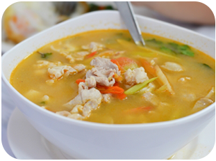 28. Chicken & Sweetcorn Soup
