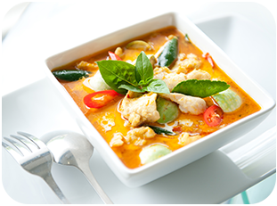 42. Thai Red Curry Dish